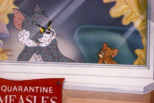 """кадр из мультфильма """"Том и Джерри"""" (Tom and Jerry), 1940-наше время/Metro-Goldwyn-Mayer/Rembrandt Films/Sib Tower/12 Productions"""