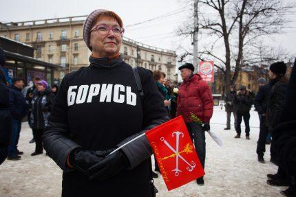 шествие митинг памяти бориса немцова