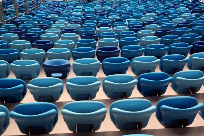 стадион на крестовском зенит-арена сиденья кресла трибуны