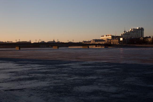 нева лёд
