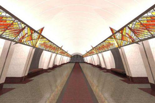 ВПетербургском метро протестировали эскалаторы, сделанные в Российской Федерации