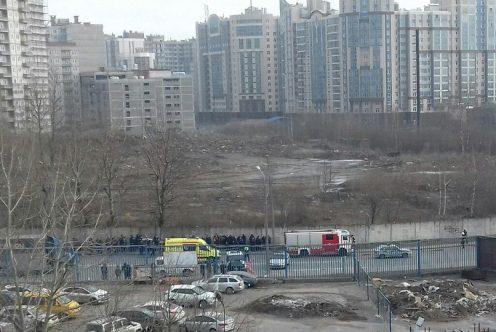 НаПолюстровском проспекте искали бомбу после анонимного звонка