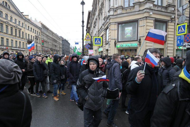 ВПетербурге отказали впроведении митинга Навальному 12июня