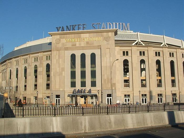 Yankee Stadium. Фото с сайта wikimapia.org