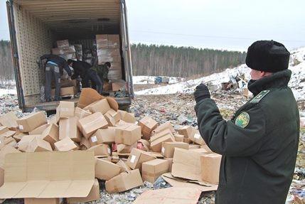 ВПетербурге бульдозер уничтожил 12 тонн польского фруктового желе