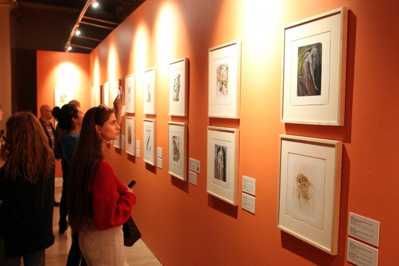Сальвадор Дали в музее Фаберже