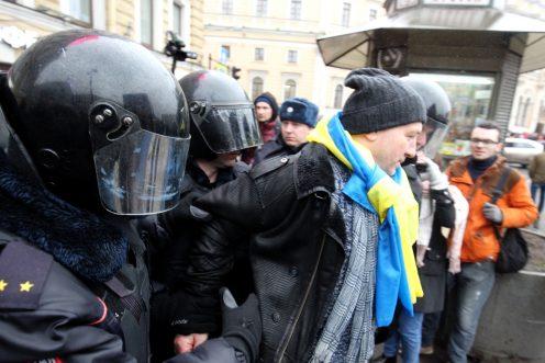 Дела 89 участников петербургских воскресных протестов переданы всуд