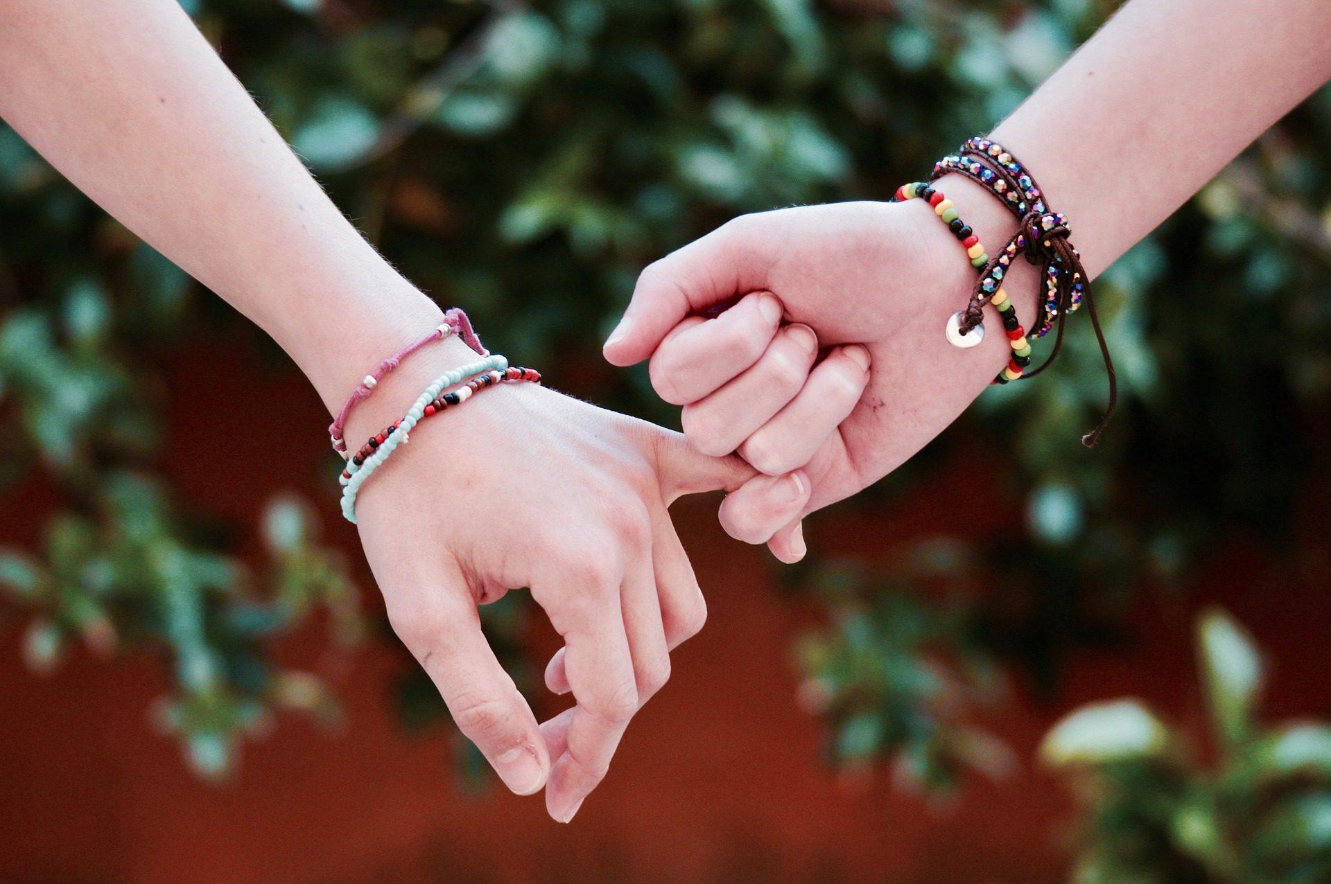 дружба руки
