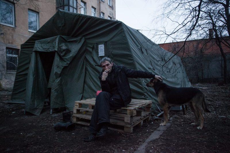 как работают пункты обогрева для бездомных