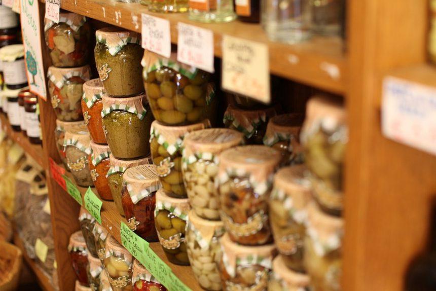 консервы соленья оливки