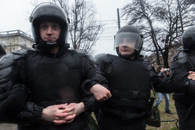 nadoelo_13 полиция задержания митинг надоел горьковская 29.04.2017