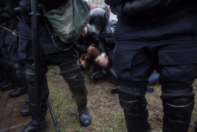 nadoelo_14 полиция задержания митинг надоел горьковская 29.04.2017