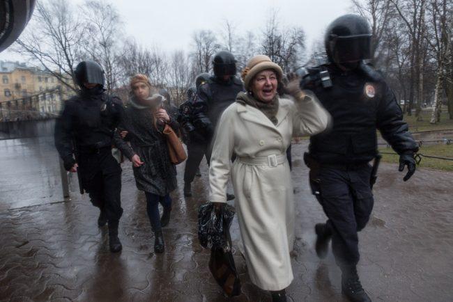 nadoelo_22 полиция задержания митинг надоел горьковская 29.04.2017