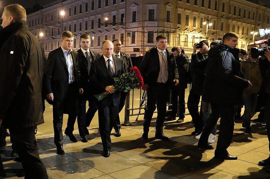 Президент провел совещание повзрыву вметро вуправление ФСБ поСанкт-Петербургу
