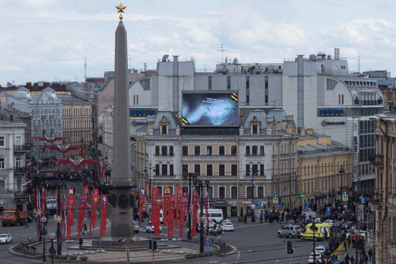 день победы 2017 площадь восстания
