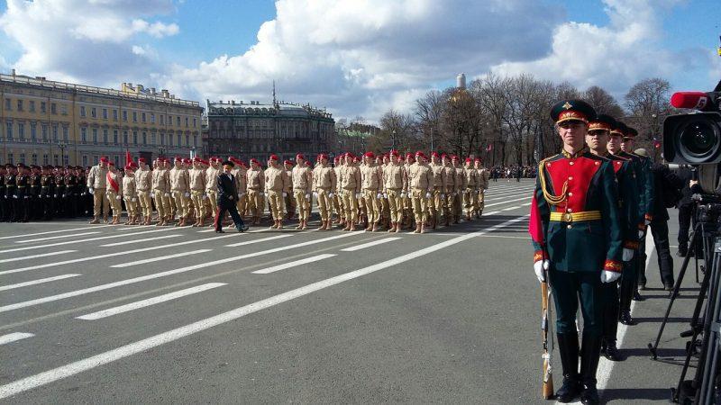 день победы 2017 дворцовая
