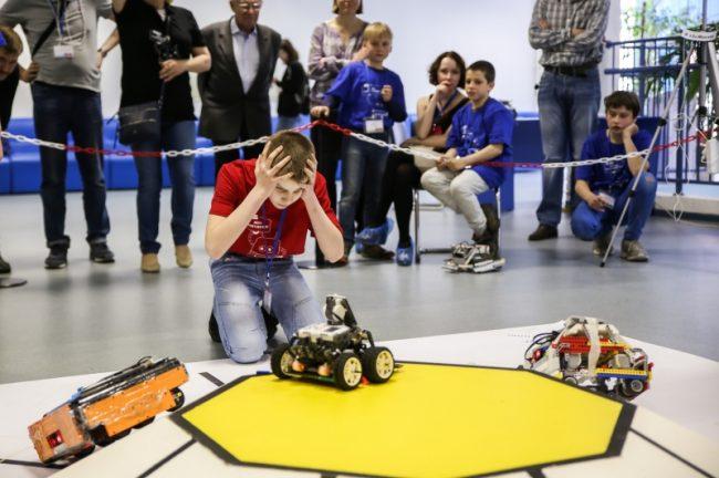 турнир двух столиц по робототехнике школьники университет ИТМО