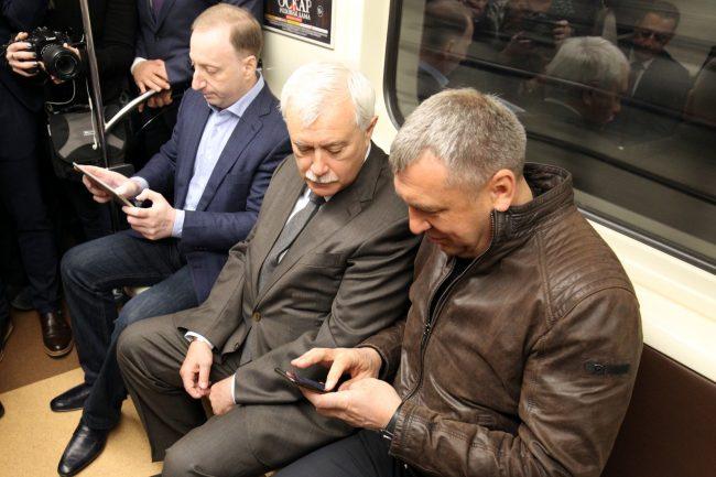 метрополитен wi-fi Георгий Полтавченко Игорь Албин