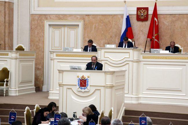законодательное собрание закс Борис Вишневский