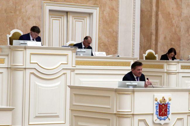 законодательное собрание закс Борис Ивченко