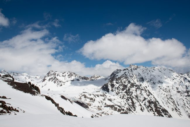 Эльбрус переход через ледовую базу 7