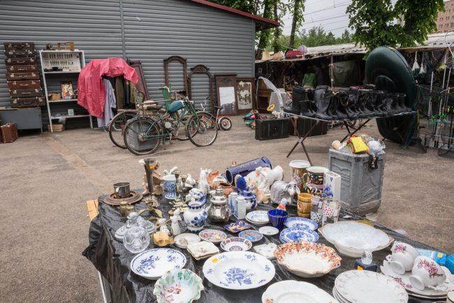 удельный рынок посуда тарелки