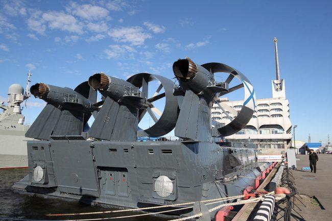 военно-морской салон десантный корабль зубр