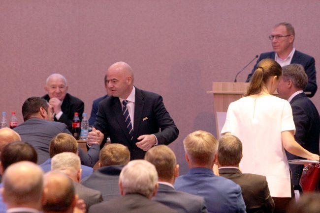 Джанни Инфантино: Российская Федерация несравненно подготовилась кКубку конфедераций