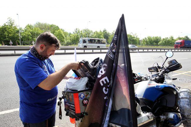 Виктор Назаров байкер мотоциклист Пулковская обсерватория экспедиция Звёзды Памира