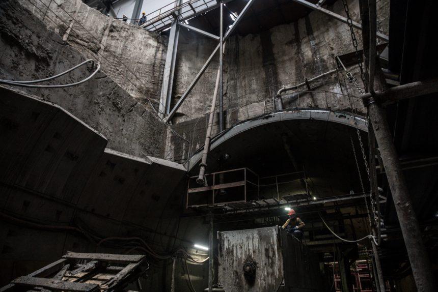 novokrestovskaya-35 строительство невско-василеостровской линии метро новокрестовская