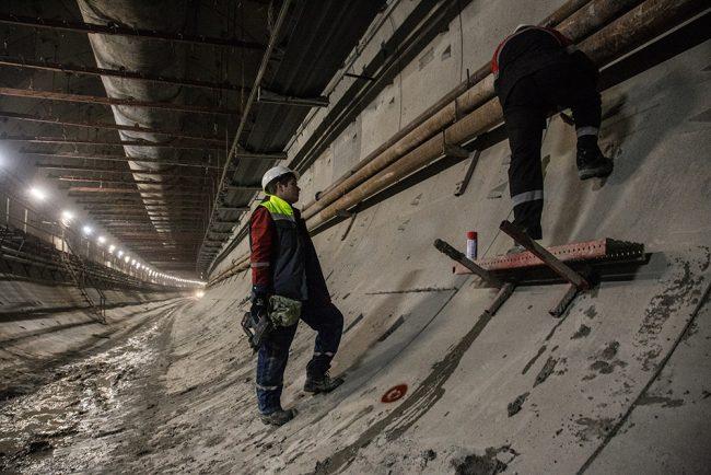 novokrestovskaya-40 строительство невско-василеостровской линии метро новокрестовская