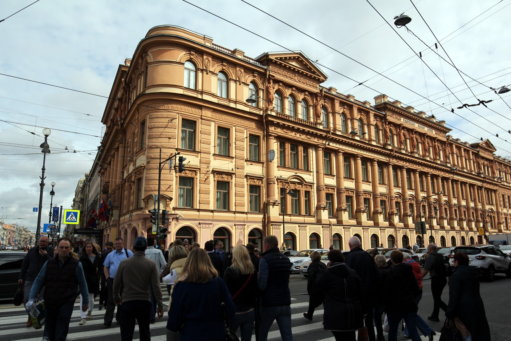 невский проспект 49 гостиница Radisson бывший Сайгон