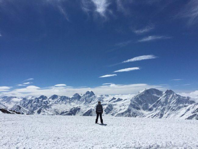 вид на Донгузарун высота 4200 фото Ангелина Фокина
