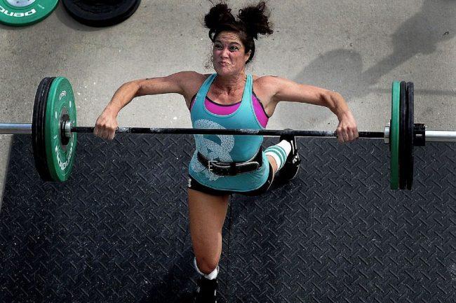 тренировка гиря худеть спорт фитнес тяжело