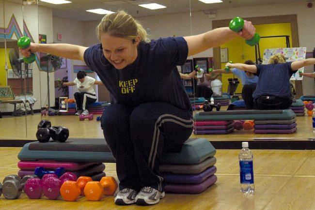 тренировка гиря худеть спорт фитнес