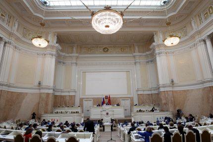 Законодательное Собрание ЗакС Мариинский дворец