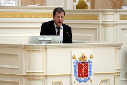 Законодательное Собрание ЗакС депутат Алексей Ковалёв