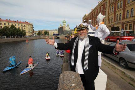 фестиваль Фонтанка SUP серфинг Дмитрий Шагин