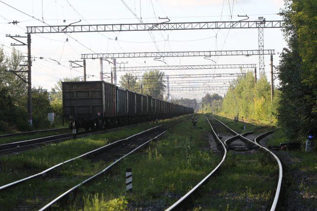 Железнодорожная станция Полюстрово железная дорога поезд вагоны
