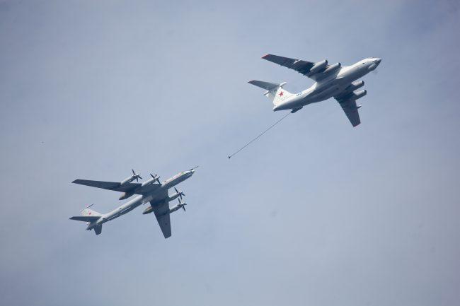 парад день военно-морского флота вмф самолёты летающий танкер