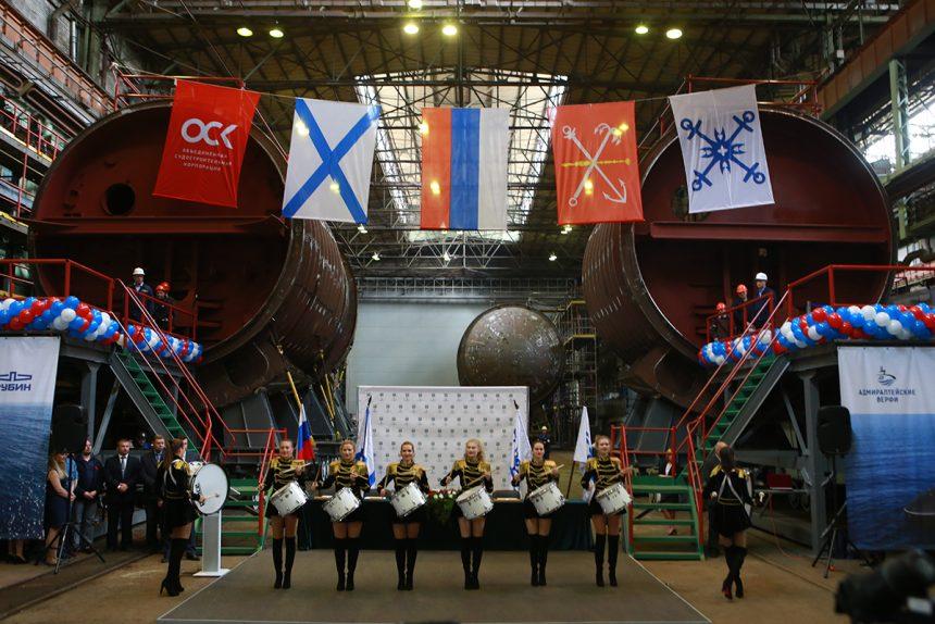 судостроение кораблестроение адмиралтейские верфи закладка подводных лодок Волхов Петропавловск-Камчатский