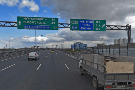 кад развязка с московским шоссе
