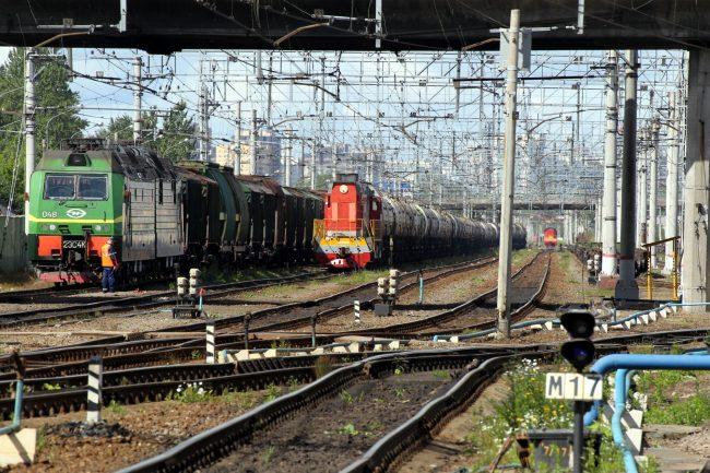 железнодорожная станция автово железная дорога локомотив тепловоз электровоз вагоны