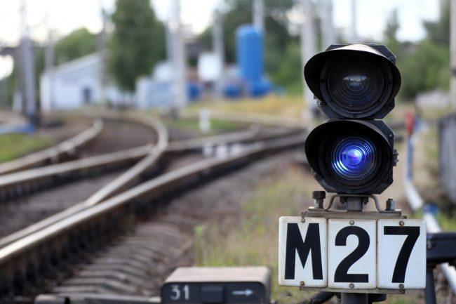 железная дорога железнодорожная станция нарвская семафор светофор