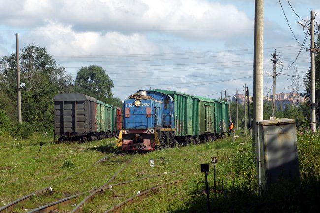 железнодорожная станция нева железная дорога вагоны маневровый тепловоз