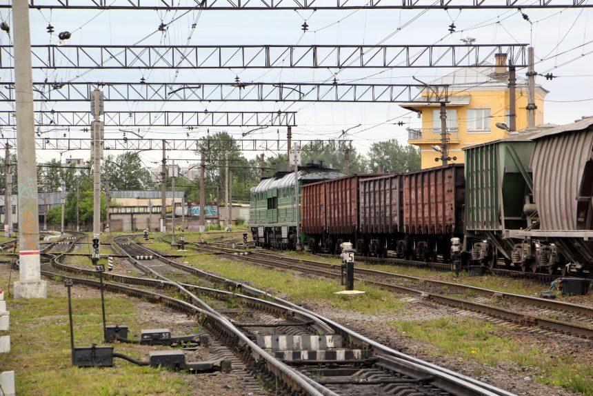 железнодорожная станция волковская железная дорога локомотив тепловоз вагоны поезд