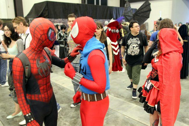 старкон фестиваль косплей фантастика костюмы человек-паук