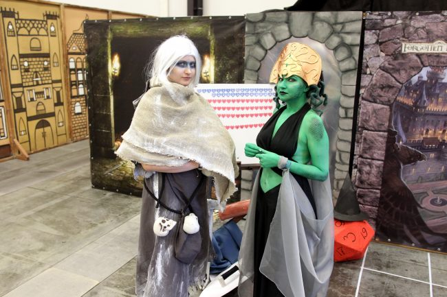 старкон фестиваль косплей фантастика костюмы медуза