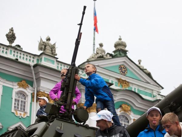18-22.08.2014 - день флага и 150-летие ЗВО на Дворцовой площади