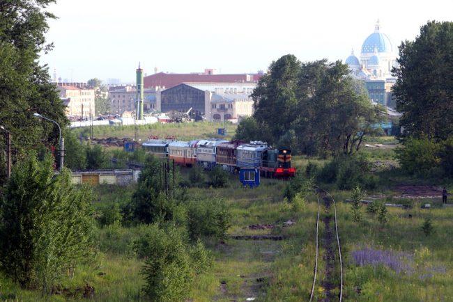 28-22.06.2016 - вывоз железнодорожной техники из музея на варшавском вокзале